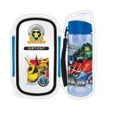 Transformers Lunch Box Bottle Set - Blue Colour