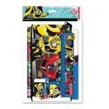 Transformers Pencil Case Stationery Set - Blue Colour