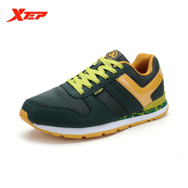 Cara Beli Xtep Merek Sajak Sepatu For Pria 2016 Retro Sepatu Olahraga Pria Sepatu Olahraga Sepatu Pelari Pelatih The Man Her Kets Hijau