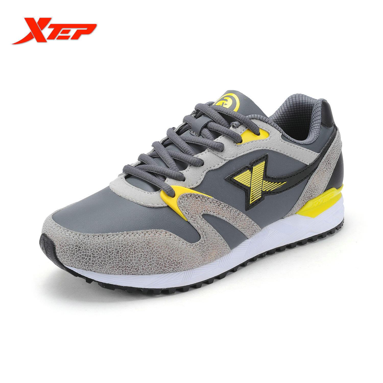 Harga Xtep Merek Runing Sepatu Sepatu Kets Pria Kasual Sepatu Atletik Pria Olahraga Sepatu Lari Maraton Sepatu Pelari Abu Abu Intl Online Indonesia