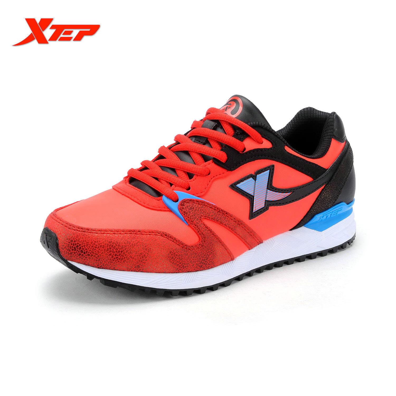 Jual Xtep Merek Sepatu Kasual Pria Sajak Sepatu Olahraga Pria Sepatu Pelari Maraton Berlari Merah Hitam Online Di Tiongkok