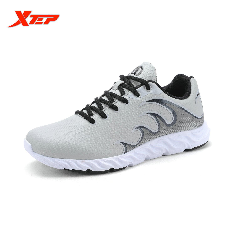 Beli Xtep Merek Menjalankan Sepatu Untuk Pria Sneaker Atletik Redaman Sepatu Olahraga Air Mesh Bernapas Baru Sepatu Pria Abu Abu Intl Xtep Asli