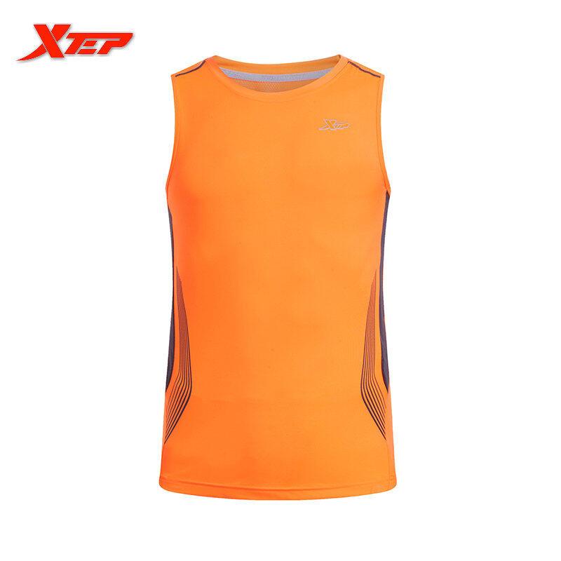Harga Xtep Mens Sports Running Sepatu Atletik Kets Hitam Oranye Intl Satu Set