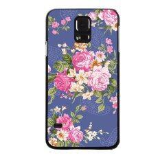Y&M Fashion Hot Sale Elegant Flower Carton Pattern Phone Case for Samsung Galaxy