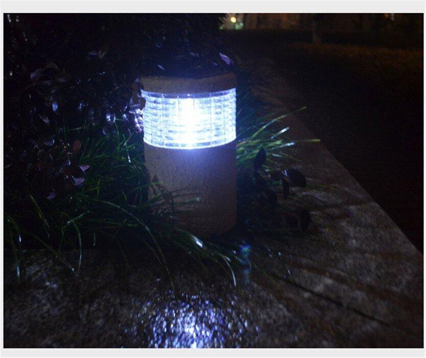 Getek solar led garden lawn landscape party path spotlight for Landscape lighting packages