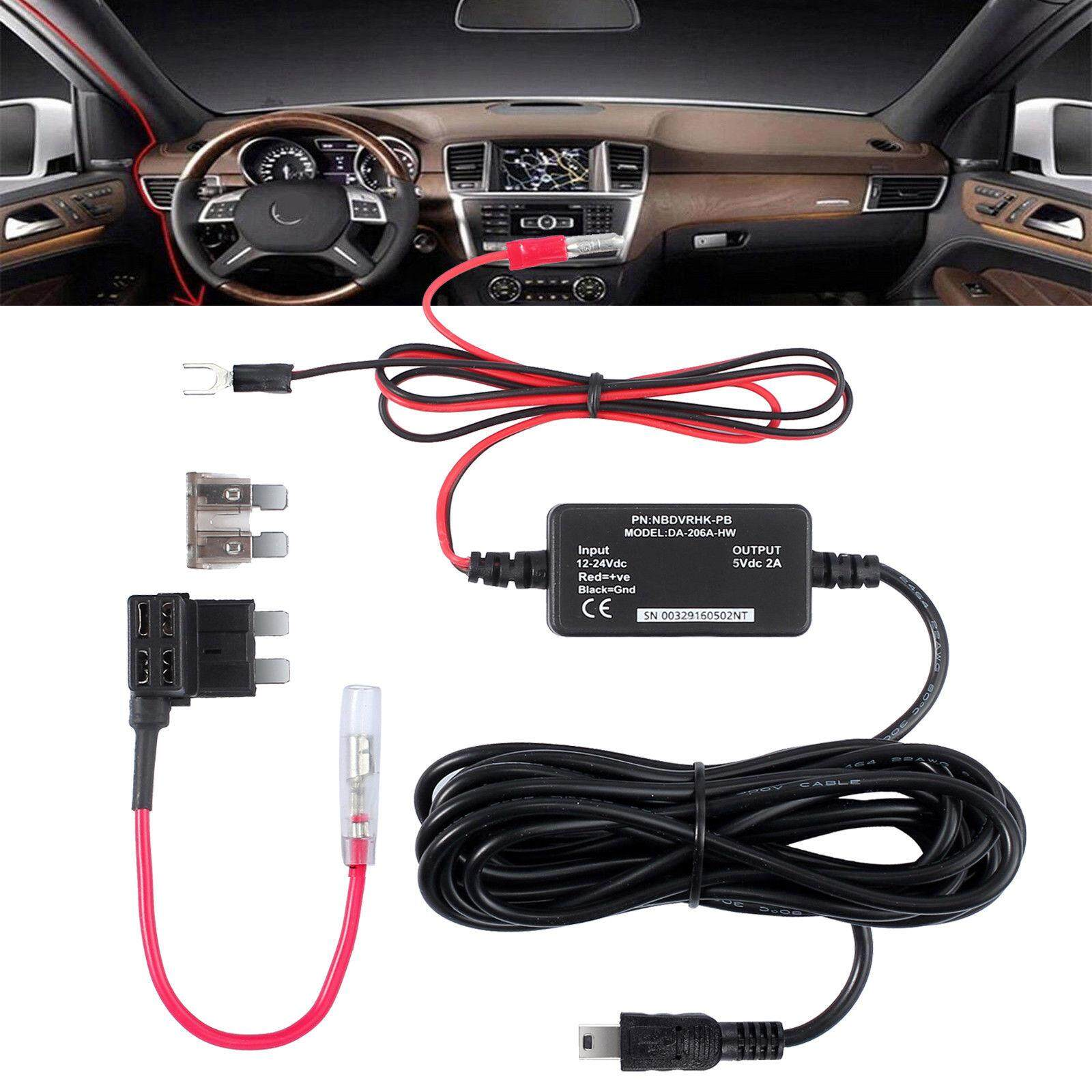 1*hard wire kit for car camera