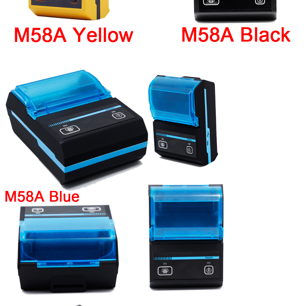 FREE P O S 58mm Bluetooth Thermal Receipt Printer SRS Topup Pay Bill For  Nokia and Android