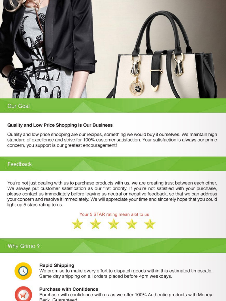 【Ready Stock】Fashion Ladies Hand Bag Women PU Leather Handbag Bags Handbags  Office Lady Bag Christmas Gift