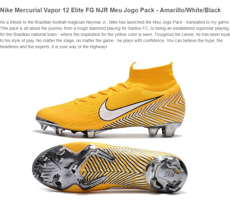 997f72d0bc9 Product details of NIKE MERCURIAL SUPERFLY 6 ELITE FG NJR FG NJR NEYMAR  SOCCER BOOTS CLEAT SHOES