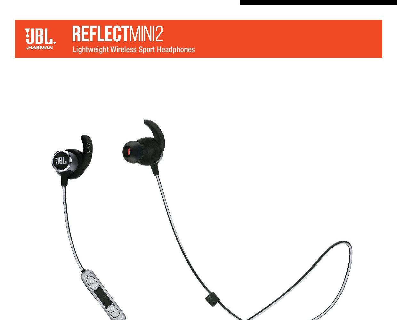 c6e7445ec4b Product details of JBL REFLECT MINI 2 - Sweatproof Wireless Sport In-Ear  Headphones