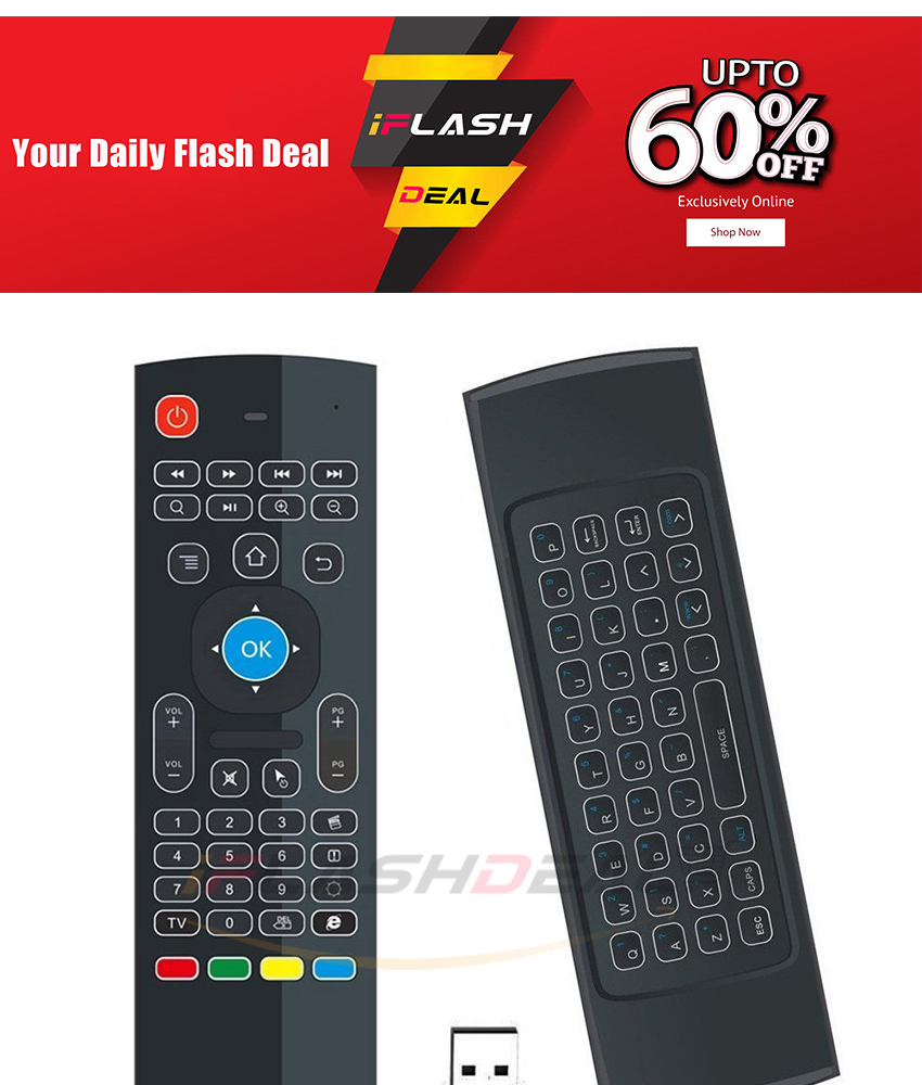 71d1003387b ... Air Mouse Remote Control, 2.4G Mini Wireless Keyboard Mouse, infrared  Remote Control Learning for Kodi Android IPTV HTPC Mini PC Pad XBOX Raspberry  pi 3 ...