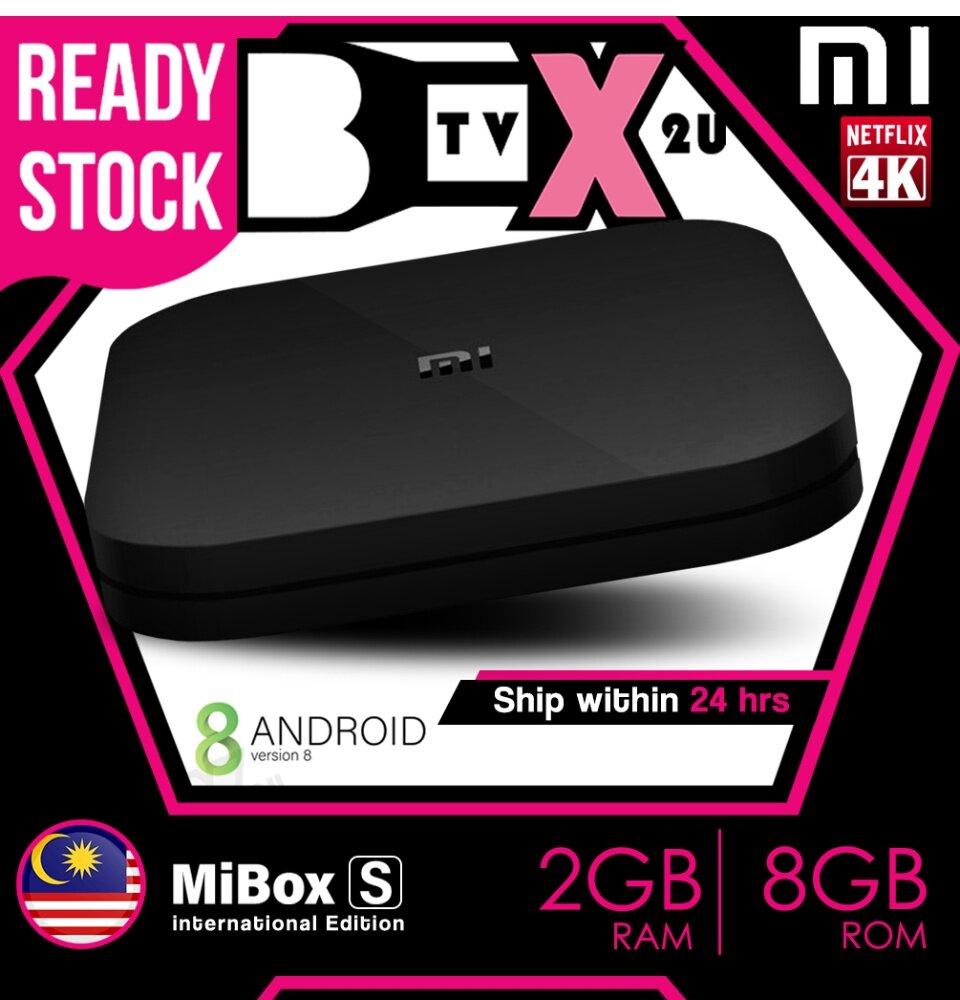 Xiaomi Mi Box S 2gb 8gb Preinstalled 10k Movies Channels