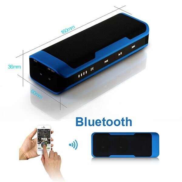2015 Bluetooth Hi-fi Speaker+ Power Bank 4000mAh