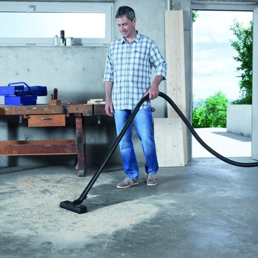 Multi-purpose vacuum cleaner WD 5 Premium: Newly developed: floor nozzle and suction hose