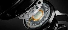 Next-gen 50mm directional drivers pump out crisp, precise audio