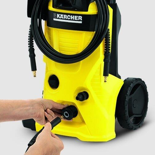 High pressure washer K 4 Basic: Quick Connect