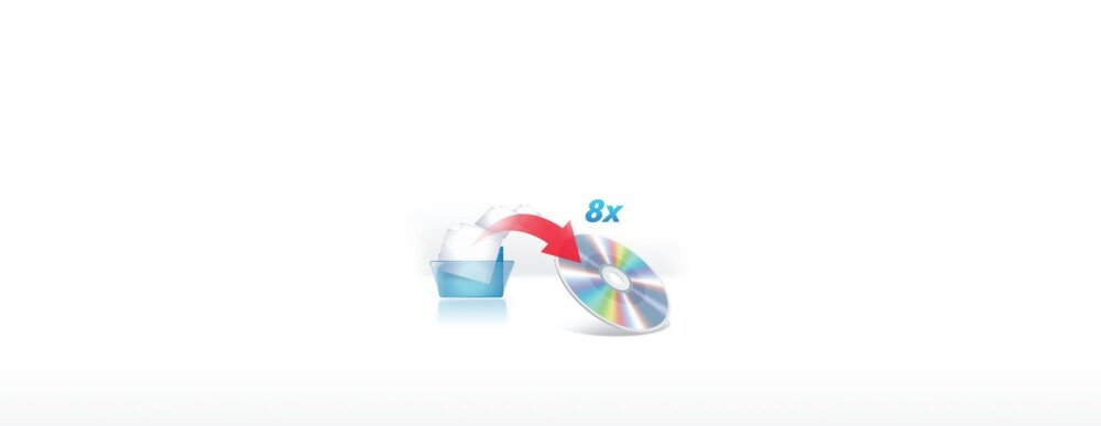 8x DVD-R Writing Speed