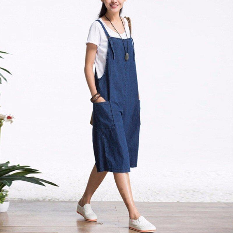 b59b58d0532 Material  Polyester+Denim Type  Jumpsuit Color  Denim Blue Package include   1 Jumpsuit