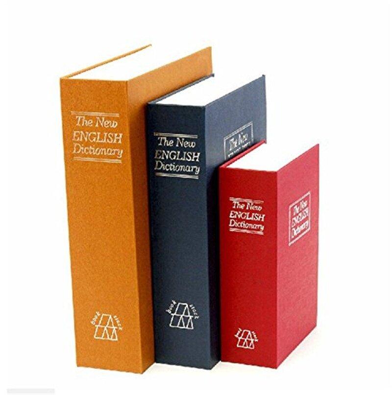 Dictionary Book Safe Diversion Secret Hidden Security Stash Booksafe Lock &  Key