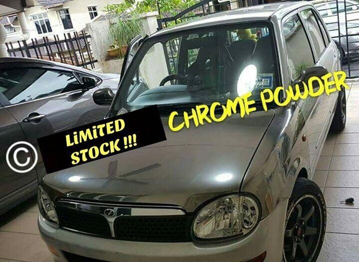 Nak Warna Chrome Kereta Anda Just Chrome It Yourself Lazada