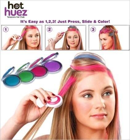 Hot Huez Temporary Dye Hair Chalk