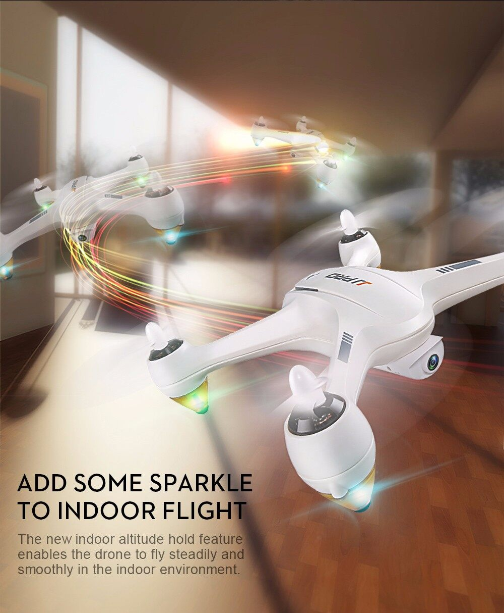 JJRC JJPRO X3 GPS Brushless RC Drone RTF WiFi FPV 1080P Full HD / Headless Mode / Indoor Altitude Hold