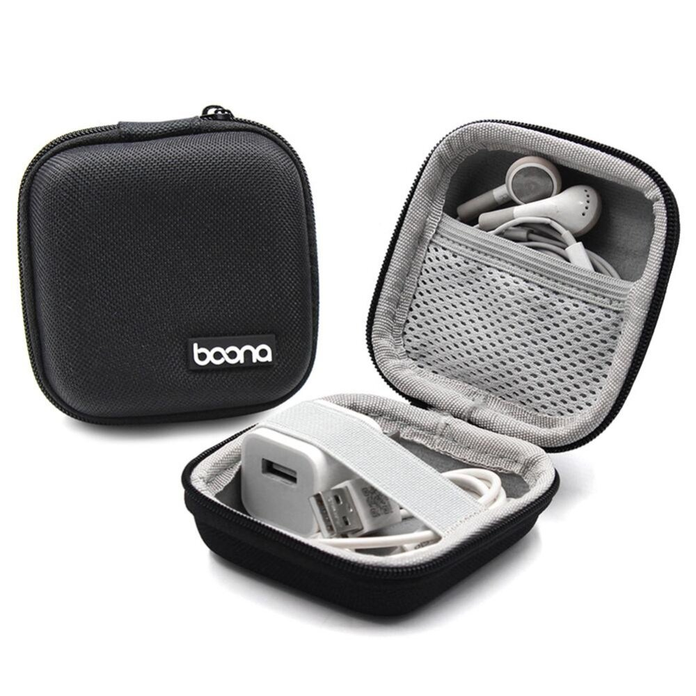 0bff3a5ded8 Specifications of Aolvo Portable Travel Carrying Headphones Case Hard EVA  Case Earphone Storage Box USB Cable Organizer