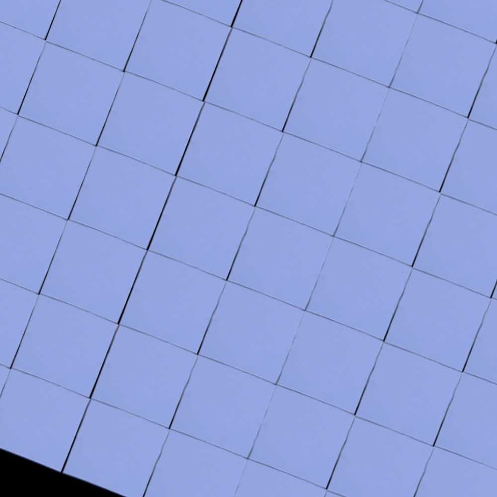100Pcs Silicon Thermal Pad Heatsink Conductive Insulation Paste