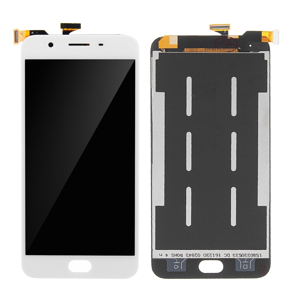 【Free Shipping + Super Deal + Limited Offer】LCD Display Digitizer Touch  Screen Glass Assembly For Oppo F1s White
