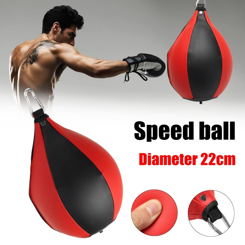 NOBRAND Boxing Punch Ball Speed Ball Boxing Training Fitness Ball Punch Bag Hanging Ropes