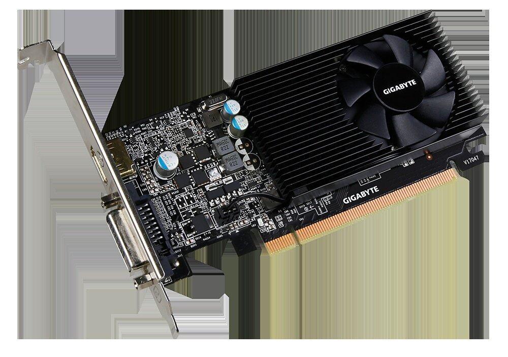GIGABYTE GT 1030 Low Profile 2G GV-N1030D5-2GL Graphics Cards | Lazada