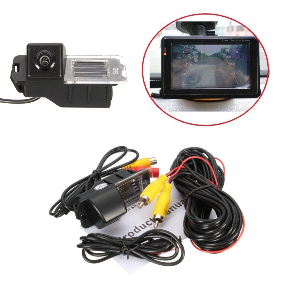 Waterproof Rear View Parking Reverse Night Vision Camera For VW Golf MK6  GTI MK7