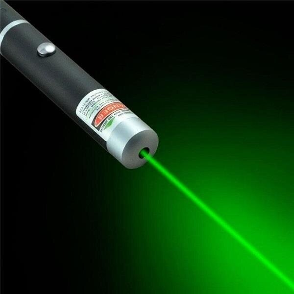 (2 sets) Laser Pointer Pen With Retail Box, AAA batteries Included