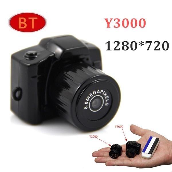 Y3000 World Smallest Mini Camcorder HD Mini DV Camera